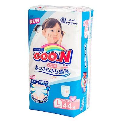 GOO.N日本大王 女用褲型紙尿褲 境內版 L 44片x3包/箱