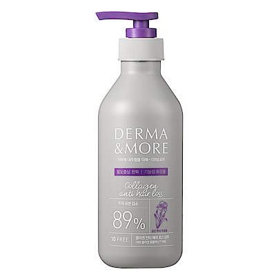 Derma&More 膠原髮根強化洗髮精400ml