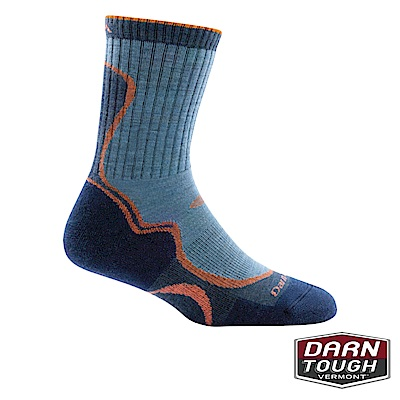 【美國DARN TOUGH】女羊毛襪LIGHT HIKER健行襪(2入隨機)