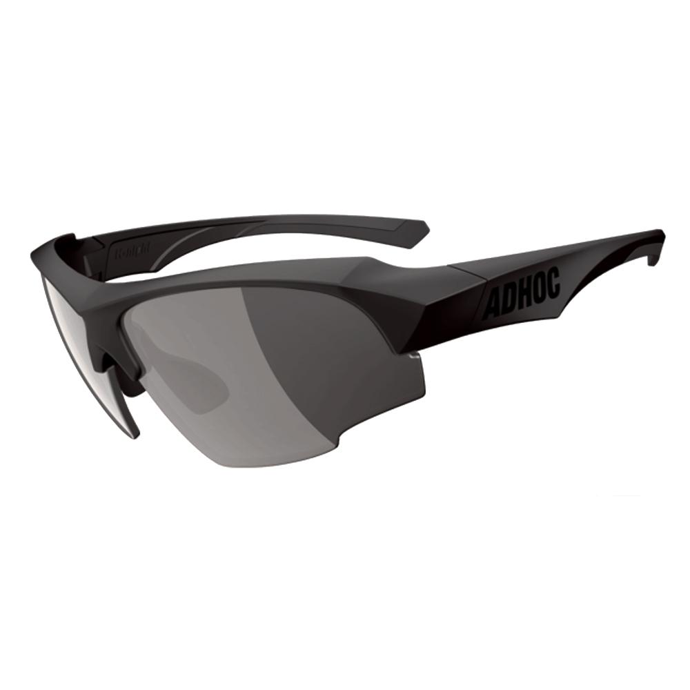 【ADHOC】運動太陽眼鏡-極速變色灰片-半框式K-NIGHT II