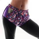 黛安芬-triaction Cardio 機能好動系列運動短褲 M-L 繽紛紫