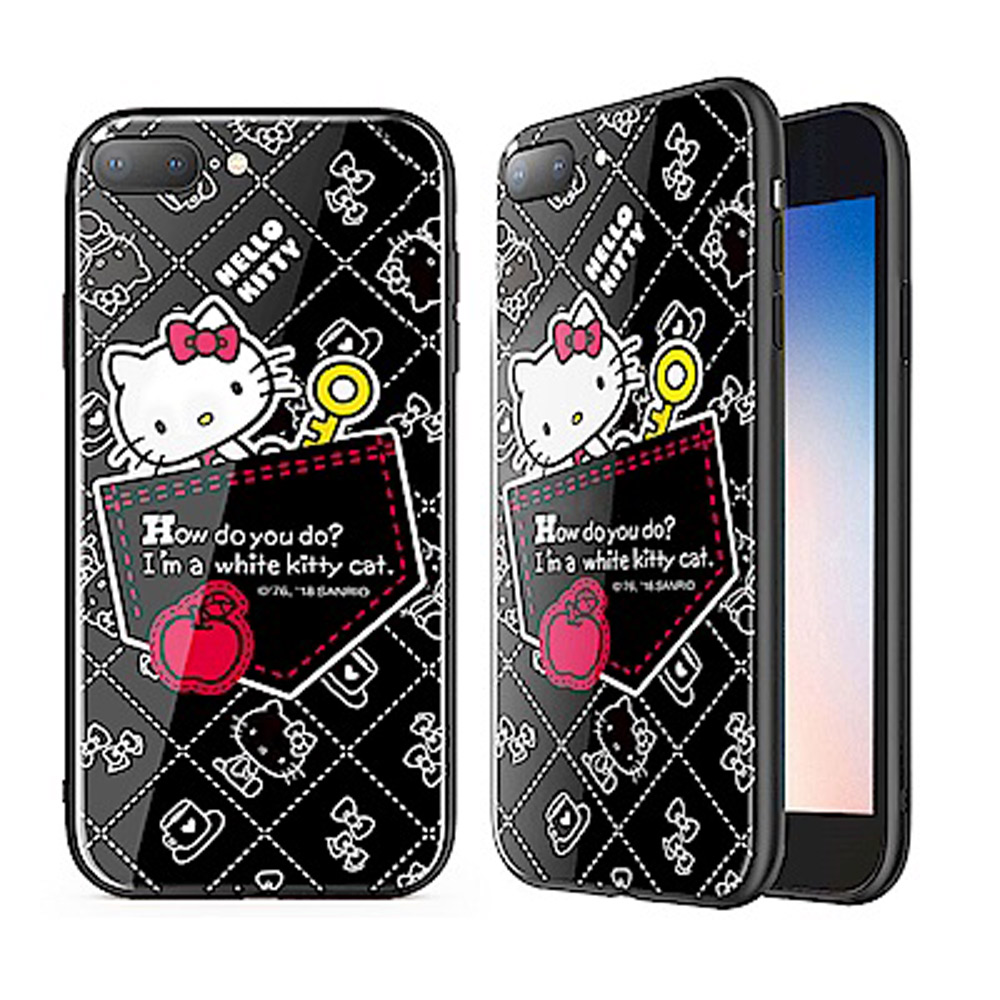 iStyle iPhone 7/8 plus 5.5 Hello Kitty 口袋手機殼