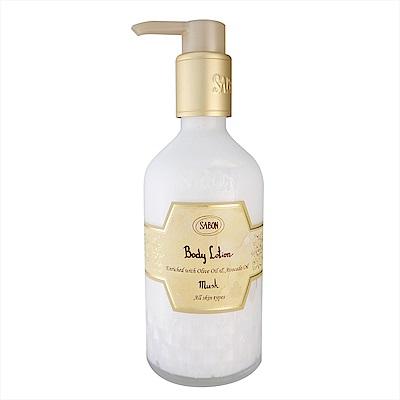 SABON 麝香身體乳液(圓瓶)  200ml