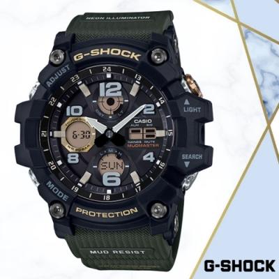 CASIO卡西歐 防泥抗塵極限大陸手錶(GSG-100-1A3)/54.9mm