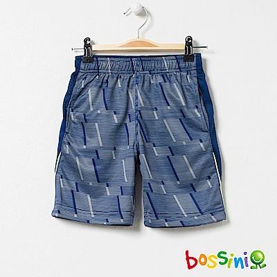 bossini男童-ZtayDry快乾短褲01綠松