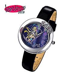 Luscious Girls浪漫少女 一見傾心華麗浪漫風鑽錶(LG006D黑)