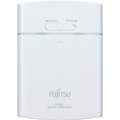 FUJITSU 富士通 一台三役USB電池充電組 FSC342FX-W (附3號1900mAh電池4顆)