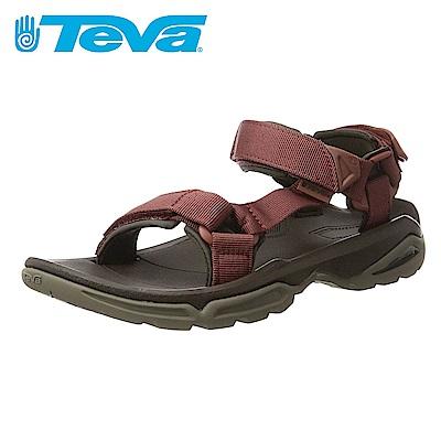 TEVA Terra Fi 4 男水陸涼鞋 磚紅色
