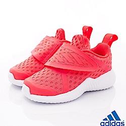 adidas童鞋 簡約輕便休閒鞋款 TH4543橘(小童段)