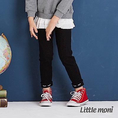 Little moni 褲口反褶內搭褲 (3色可選)