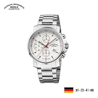 格拉蘇蒂·莫勒 運動系列M1-25-41-MB 機械男錶
