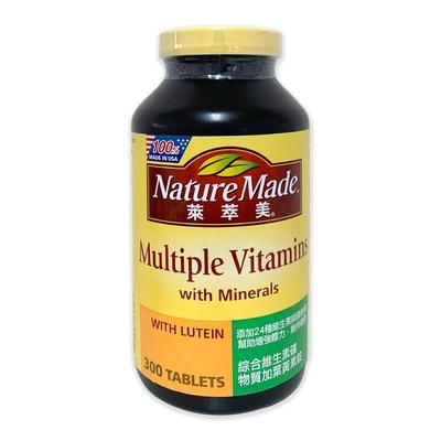 Nature Made 萊萃美 綜合維生素加葉黃素錠 300粒