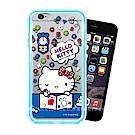 三麗鷗授權 iPhone 6s Plus / 6 Plus 二合一雙料手機殼(KT畫畫)