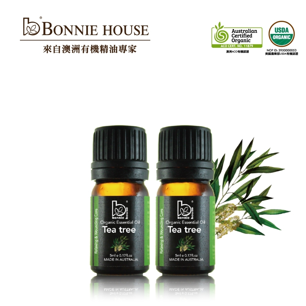 Bonnie House 茶樹精油5ml 2入組