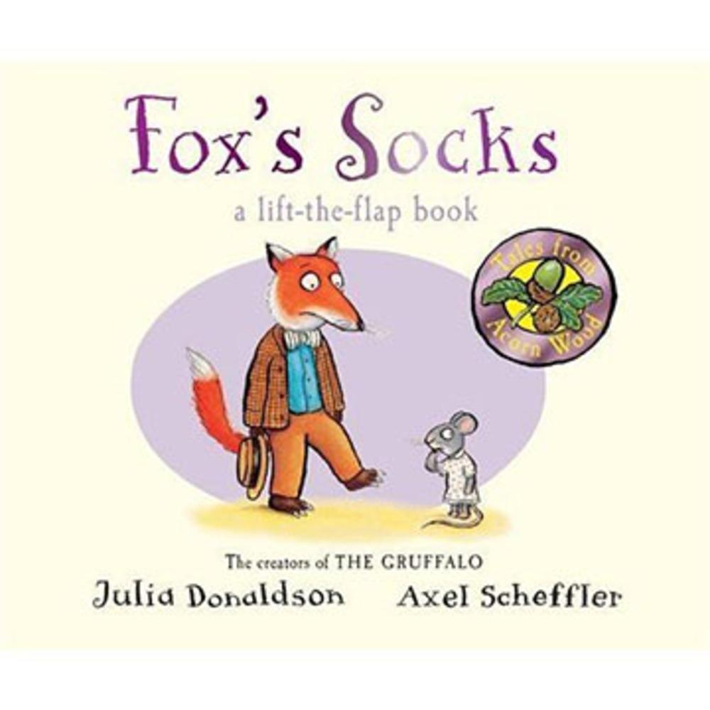 Tales From Acorn Wood:Fox's Socks 老狐狸的襪子硬頁翻翻書