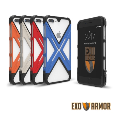 EXO-ARMOR [輕鐘罩] iPhone 8 Plus 極度防護手機殼