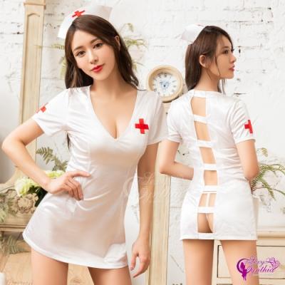 Sexy Cynthia 角色扮演 白衣天使純情護士角色扮演服三件組-白F