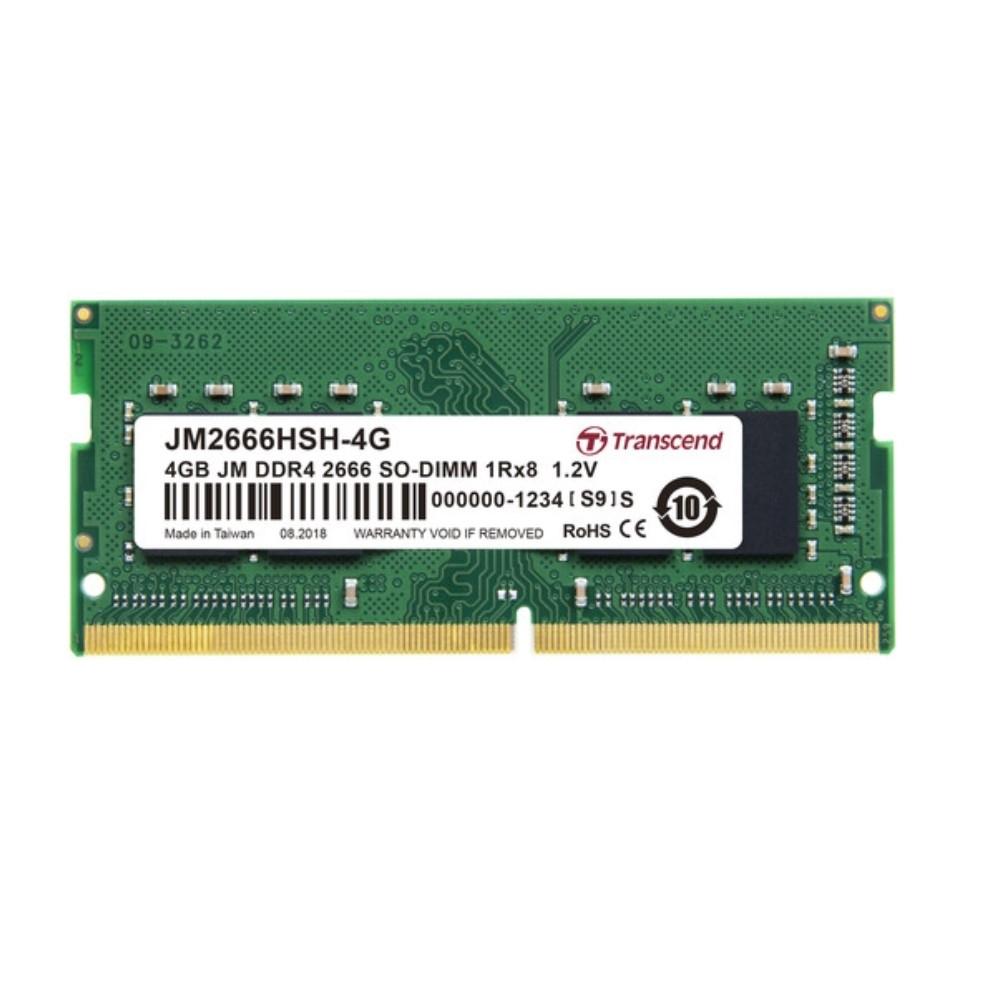 Transcend創見  JetRAM DDR4-2666MHz 4GB 筆電記憶體