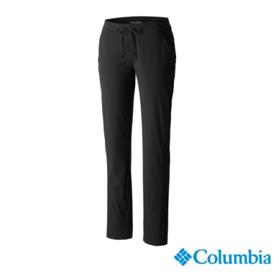 Columbia 哥倫比亞 女款- 女防曬50防潑長褲-深灰 UAK04820