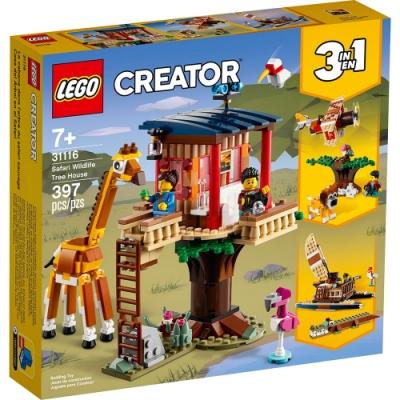 樂高LEGO 創意大師系列 - LT31116 野生動物園樹屋
