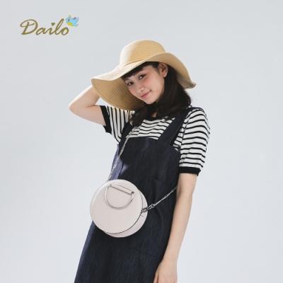 【Dailo】簡約百搭條紋針織衫(三色)