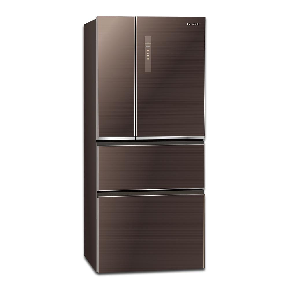 Panasonic國際牌 610L 1級變頻4門電冰箱 NR-D610NHGS 玻璃面板
