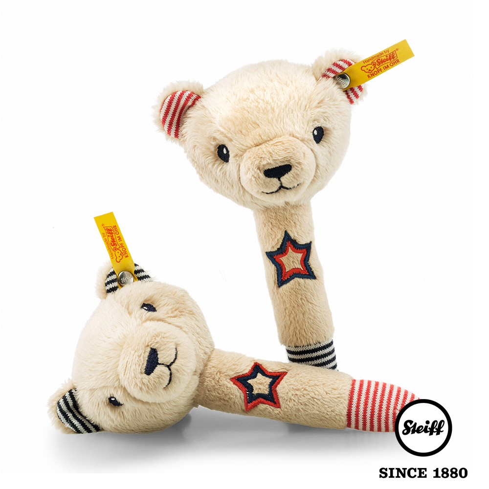 STEIFF 泰迪熊 Niklie(嬰幼兒手搖鈴) @ Y!購物