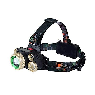 KINYO LED高亮度五燈變焦頭燈