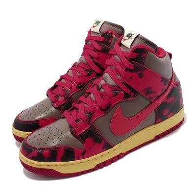 Nike 休閒鞋 Dunk High 1985 SP 男鞋 仿舊 舒適 穿搭 Red Acid Wash 紅 DD9404-600