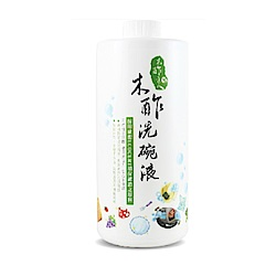 木醋液達人 木酢洗碗液1000mlx2瓶+補充瓶1000mlx6瓶(特惠組)