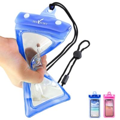 [玩水必備] 6.5吋以下通用款 3段強力防護 漂浮氣囊 可觸控手機防水袋 (手機包 iPhone12 iPhone11 )