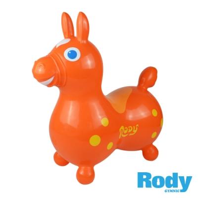 RODY跳跳馬-橘色(義大利原裝進口~寶寶騎乘玩具)
