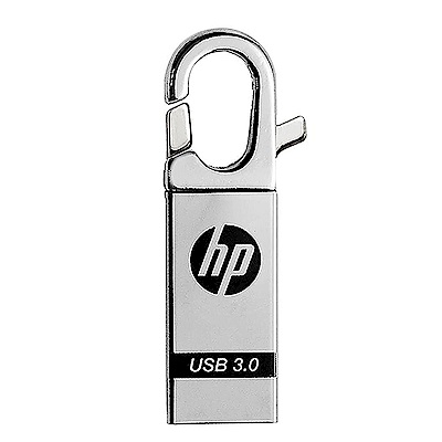 HP 128GB USB3.0 掛勾扣環精品隨身碟 x752w