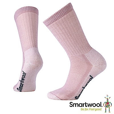 零碼五折↘SmartWool 女 健行中級避震型中長襪 木玫粉 L