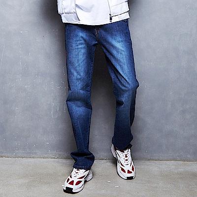 FILA 男款牛仔褲-藍色 1PNT-1482-BU