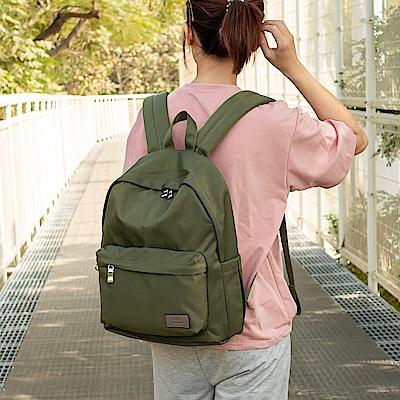 J II 後背包-經典水洗大容量後背包-橄欖綠-6388-15
