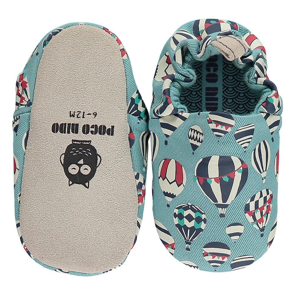 英國 POCONIDO 手工嬰兒鞋 (熱氣球)