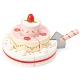 英國 Le Toy Van 角色扮演系列-草莓婚禮蛋糕玩具組 product thumbnail 2