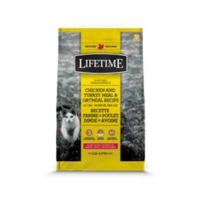 加拿大LIFETIME萊馥特-挑嘴貓配方(雞肉+火雞+燕麥)全齡貓 5LB/2.27KG (LTC7825)
