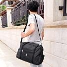 E.City_可肩背大容量折疊拉桿行李旅行袋