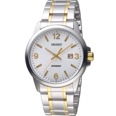 ORIENT 東方錶 時尚都會紳士錶(SUNE5002W)41mm