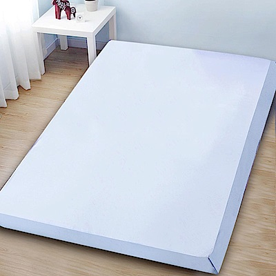 Gloria  釋壓型10cm 大和抗菌竹炭記憶床墊 藍 單人