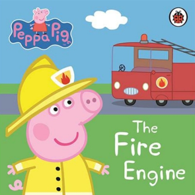 Peppa Pig:The Fire Engine 佩佩豬與消防車精裝硬頁書