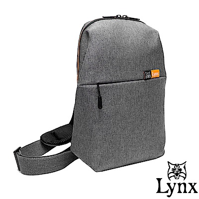 Lynx - 山貓質男防潑水休閒單肩包-共4色