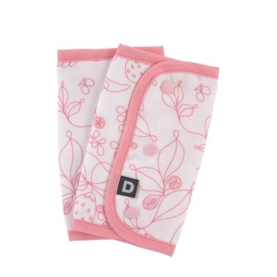 D BY DADWAY_揹帶用口水巾 / 粉紅小蜂鳥