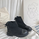 KEITH-WILL時尚鞋館 超有型瘦瘦短靴-黑色