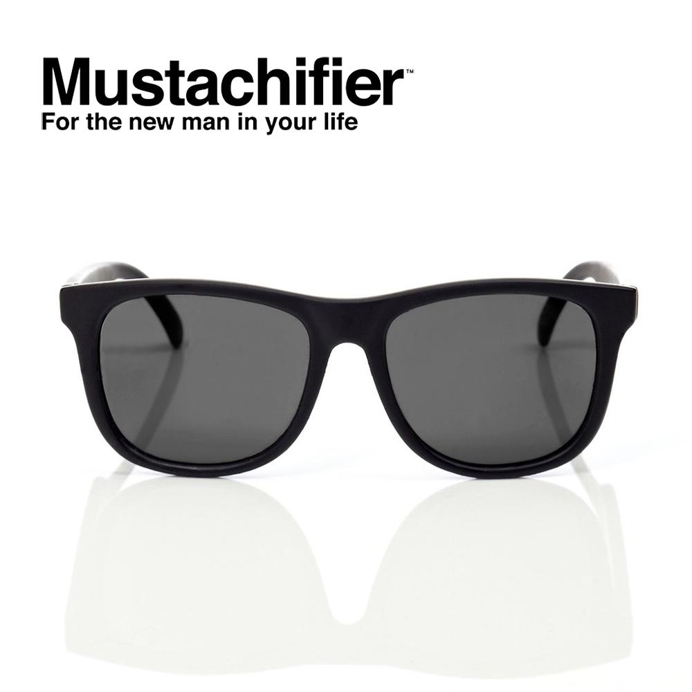 Hipsterkid 美國 抗UV時尚嬰童偏光太陽眼鏡 - 騎士黑款 (3-6歲)