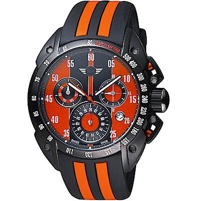MINI Swiss Watches經典設計時尚腕錶(MINI-160105)-橘