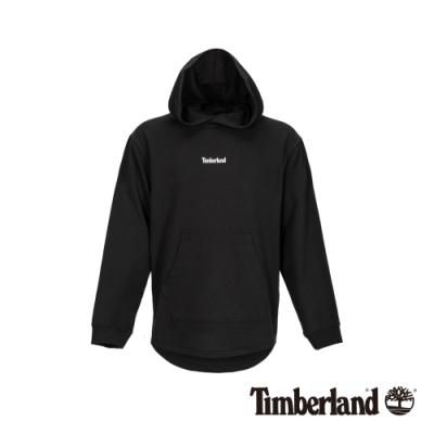 Timberland 男款黑色連帽套頭長袖上衣|A1XJR
