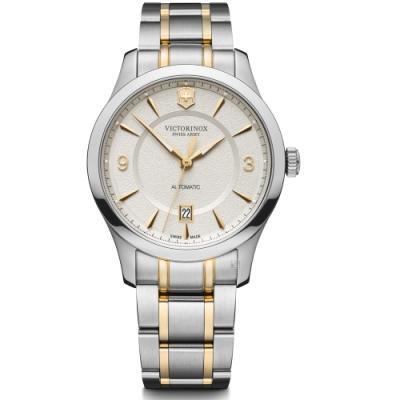 VICTORINOX瑞士維氏Alliance經典機械錶(VISA-241874)-雙色